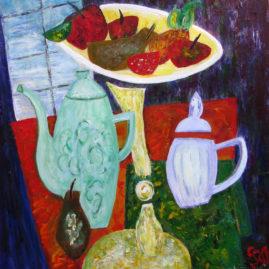 Póth-Vecsei Mária - Asztali csendélet