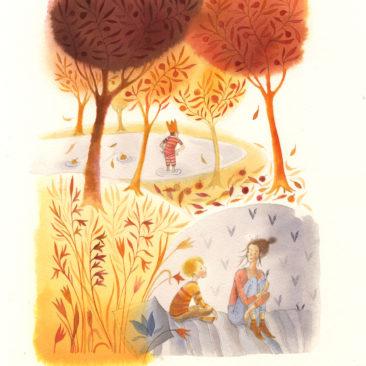 Simonyi Cecilia - A tűz ösvénye - illusztráció 1