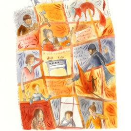 Simonyi Cecília - A tűz ösvénye - illusztráció 2