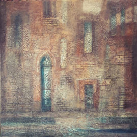 Gedeon Irén - Velence, belső udvar