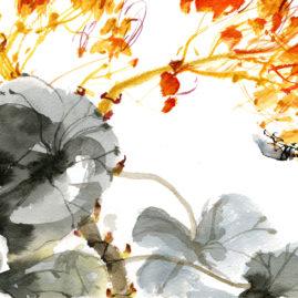 Gibárszki Judit - Bogár /Zhao Shaoang festménye után