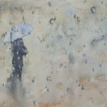 Matolcsi Ildikó - Esőben