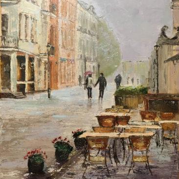 Hettinger Ágnes - Séta az esőben